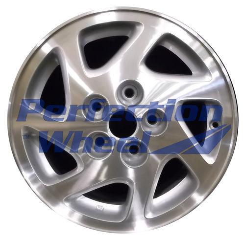 WAO.62319 15x6.5 Medium Sparkle Silver Machined