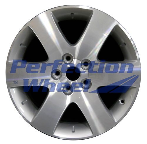 WAO.62428 17x6.5 Medium silver Machined