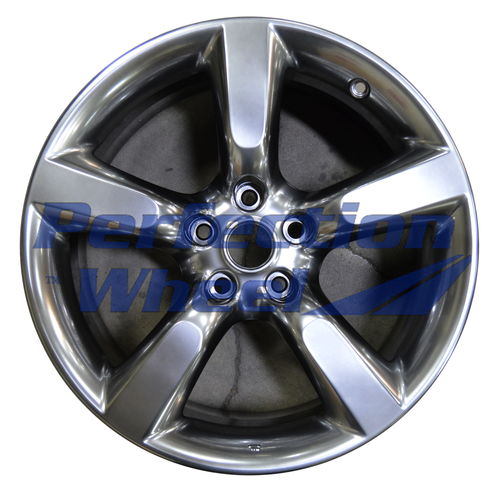 WAO.62456RE 18x8.5 Hyper Bright Smoked Silver Full Face