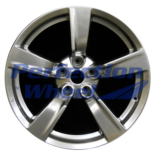 WAO.62523FT 18x8 Hyper Bright Smoked Silver Full Face