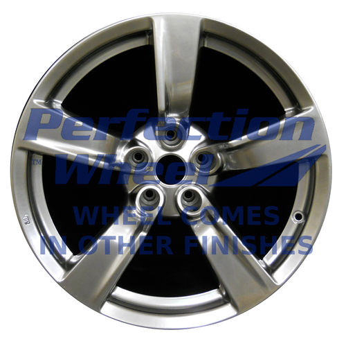 WAO.62523FT 18x8 Sparkle silver Full Face