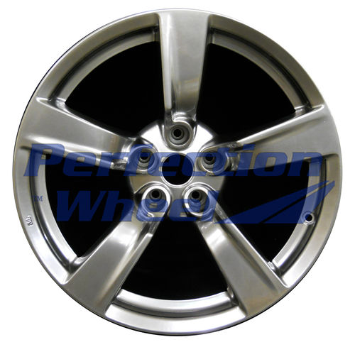 WAO.62524RE 18x9 Hyper Bright Smoked Silver Full Face
