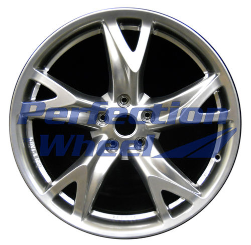 WAO.62525FT 19x9 Hyper Bright Smoked Silver Full Face