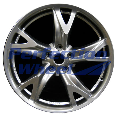 WAO.62526RE 19x10 Hyper Smoked Silver Full Face