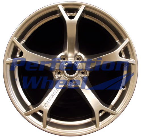 WAO.62534FT 19x9.5 Hyper Bright Smoked Silver Full Face