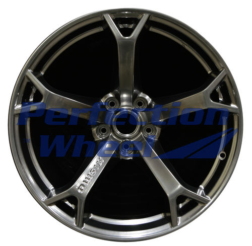 WAO.62535RE 19x10.5 Hyper Bright Smoked Silver Full Face