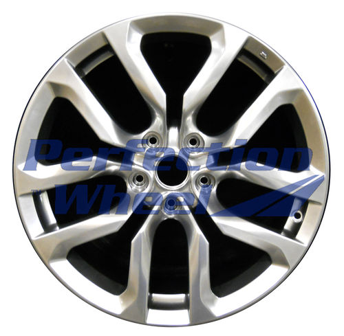 WAO.62545FT 18X8 Hyper Bright Smoked Silver Full Face