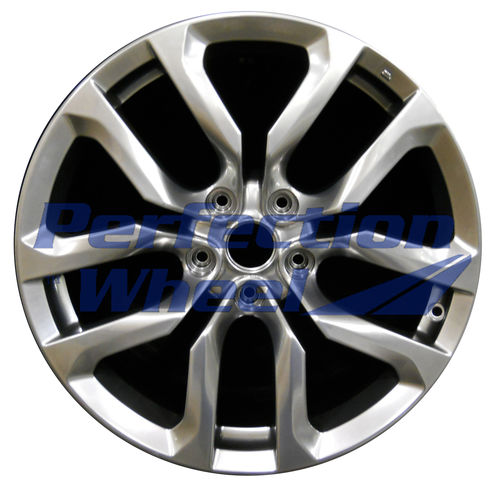 WAO.62547RE 18x9 Hyper Bright Smoked Silver Full Face