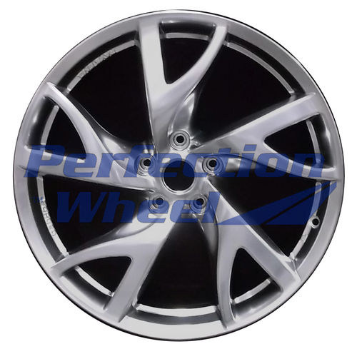 WAO.62586FT 19x9 Hyper Bright Smoked Silver Full Face