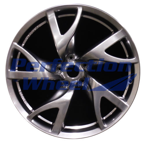 WAO.62587RE 19x10 Hyper Bright Smoked Silver Full Face