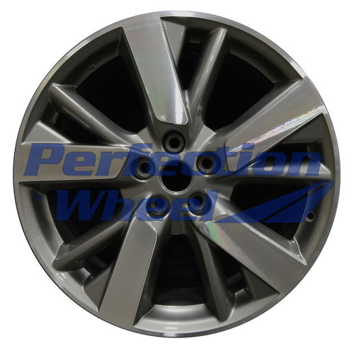 WAO.62598 20x7.5 Medium Metallic Charcoal Machined