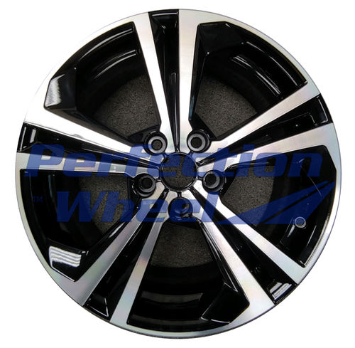 WAO.62825 18x7.5 Gloss Black Machine PIB and POD