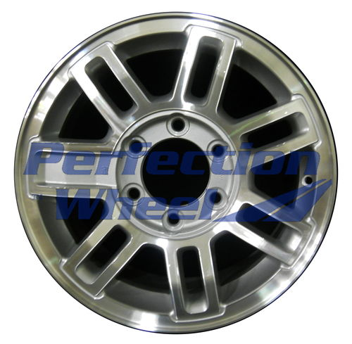 WAO.6304 16x7.5 Sparkle Silver Machined