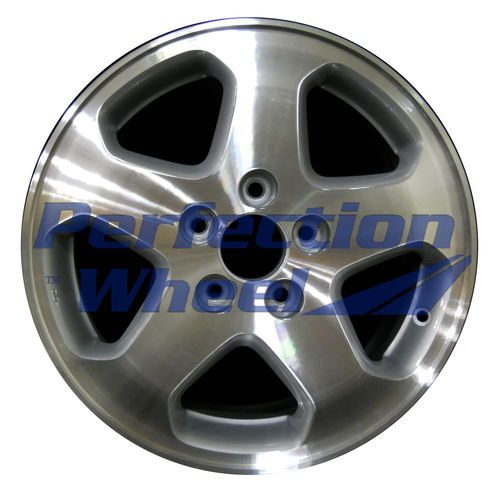 WAO.63777 16x6.5 Fine metallic silver Machined