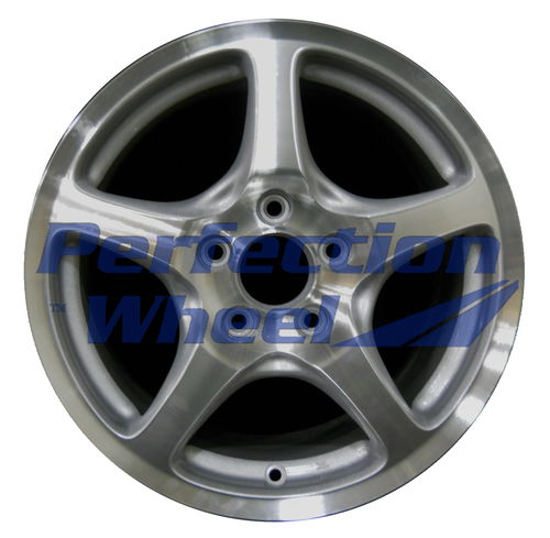 WAO.63817FT 16x6.5 Metallic Silver Machined