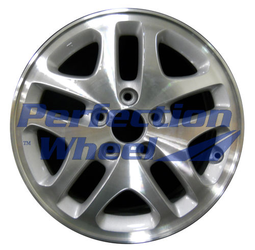 WAO.63823 16x6.5 Medium Sparkle Silver Machined