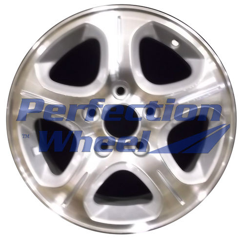 WAO.63843 15x6 Bright Medium Silver Machined
