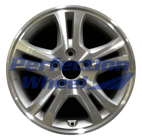 WAO.63907A 16x6.5 Metallic Silver Machined