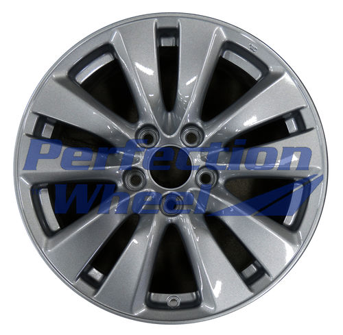 WAO.64015 17X7.5 Dark Blueish Sparkle Silver Full Face