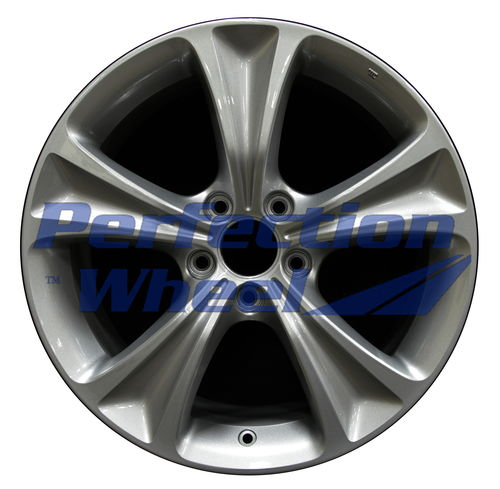 WAO.64016 18x8 Sparkle Silver Full Face