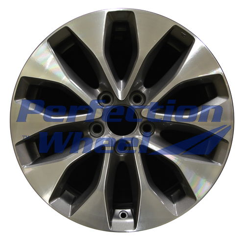 WAO.64050 17x7.5 Metallic Charcoal Machined
