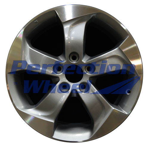 WAO.64075 17x7.5 Medium Silver Machined