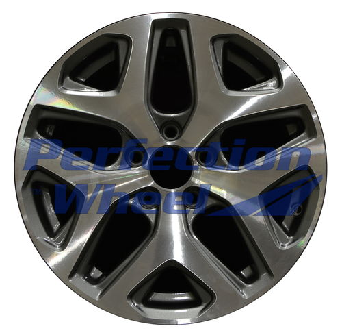 WAO.64076 17x7.5 Dark Sparkle Charcoal Machined Bright