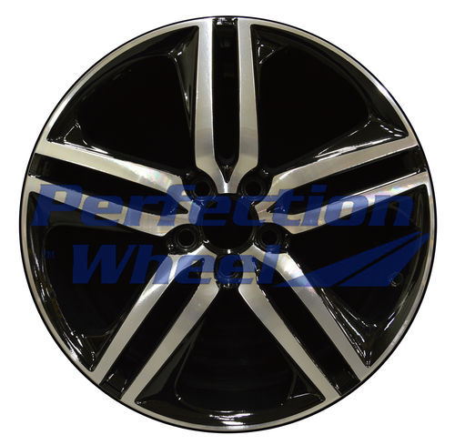 WAO.64083 19x8 Gloss Black Machine PIB