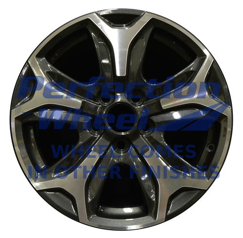 WAO.64103 18x8 Dark Charcoal Machined Bright Painted OD