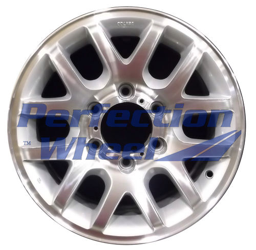 WAO.64232 16x7 Medium Sparkle Silver Machined