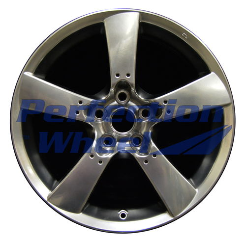WAO.64868 18x8 Hyper Bright Smoked Silver Full Face