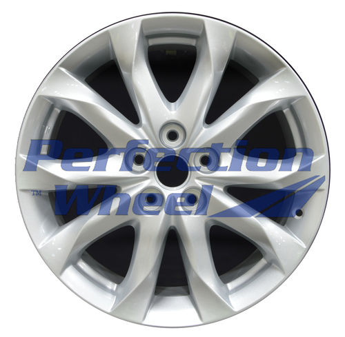 WAO.64962 18x7 Sparkle Blue Silver Full Face