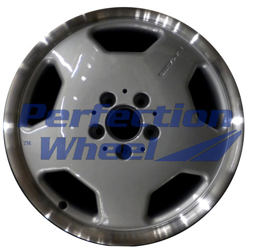 WAO.65160FT 17x7.5 Bright fine metallic silver Flange Cut