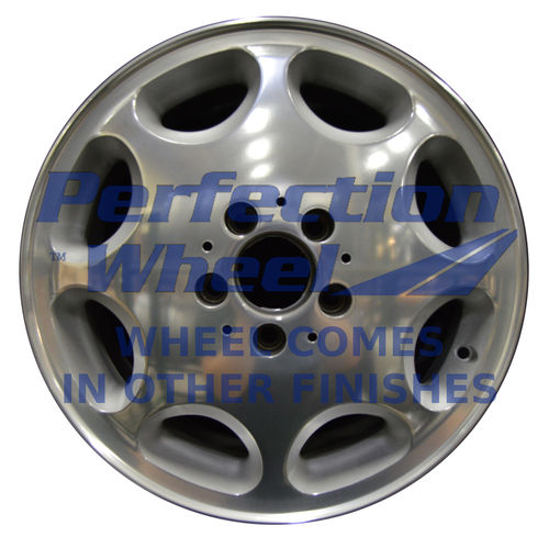 WAO.65167 16x7.5 Bright Fine Metallic Silver Polish