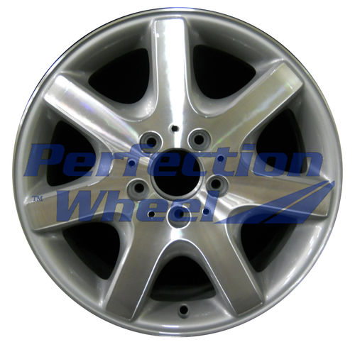 WAO.65173FT 16x7 Bright fine metallic silver Machined