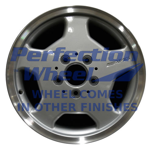 WAO.65202 15x7 Bright fine metallic silver Full Face
