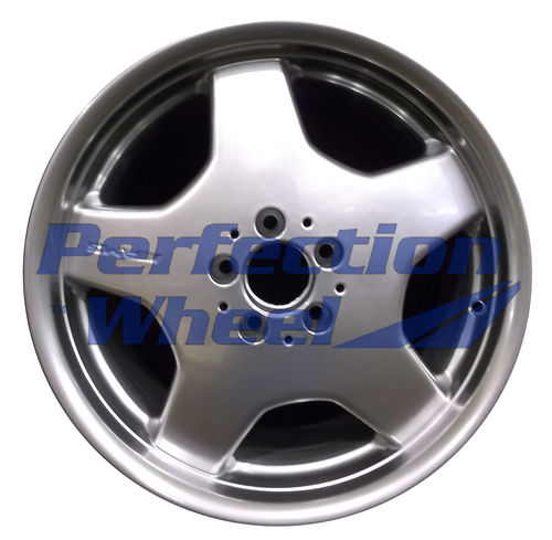 WAO.65206FT 18x8.5 Hyper Bright Mirror Silver Full Face