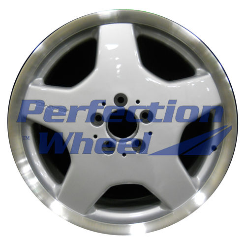 WAO.65206FT 18x8.5 Bright fine metallic silver Flange Cut