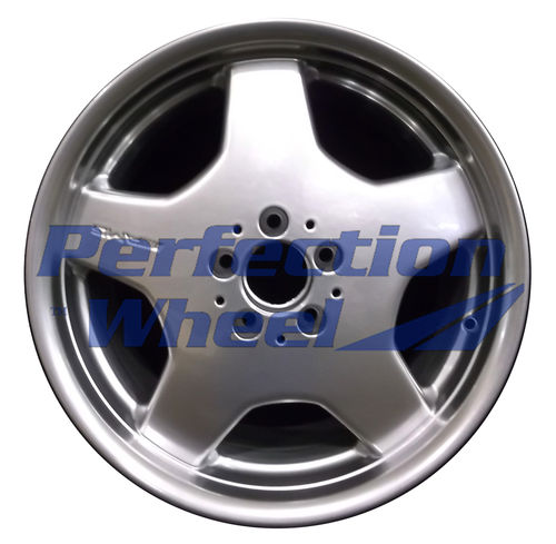 WAO.65207RE 18x9.5 Hyper Bright Mirror Silver Full Face