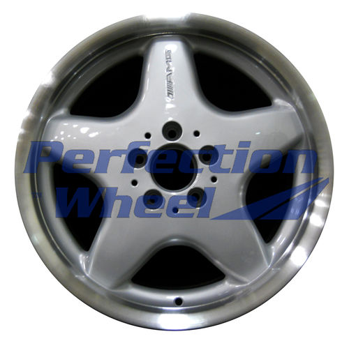 WAO.65208FT 17x7.5 Bright fine metallic silver Flange Cut