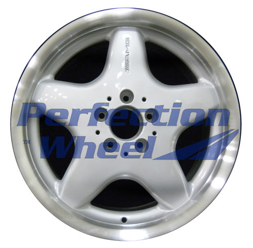 WAO.65209RE 17x8.5 Bright fine metallic silver Flange Cut