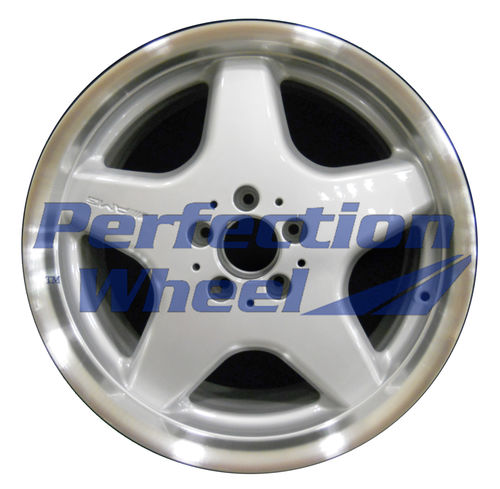 WAO.65228FT 18x8.5 Bright fine metallic silver Flange Cut