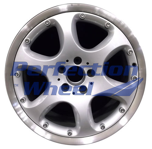 WAO.65234FT 18x8.5 Bright fine silver Flange Cut