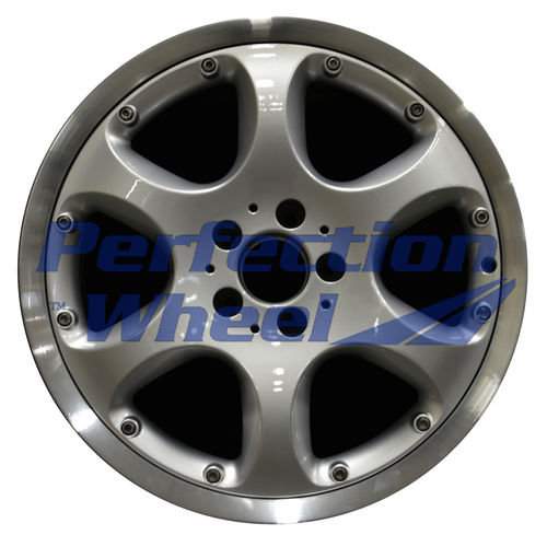 WAO.65234FT 18x8.5 Hyper Bright Silver Flange Cut
