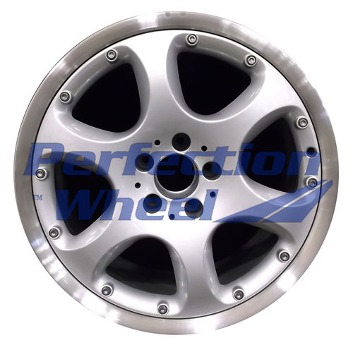 WAO.65235RE 18x9.5 Bright fine silver Flange Cut