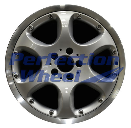 WAO.65235RE 18x9.5 Hyper Bright Silver Flange Cut