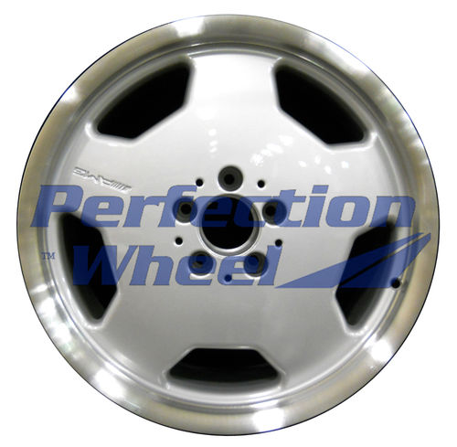 WAO.65239FT 18x8 Bright fine metallic silver Flange Cut