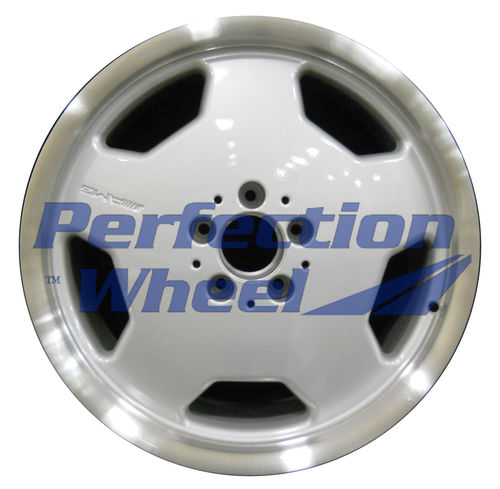 WAO.65240RE 18x9 Bright fine metallic silver Flange Cut
