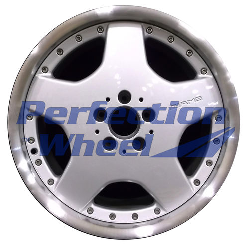 WAO.65253FT 18x8.5 Bright fine metallic silver Flange Cut