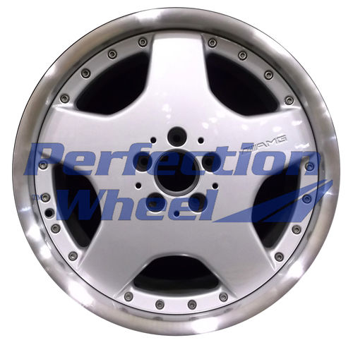 WAO.65254RE 18x10 Bright fine metallic silver Flange Cut